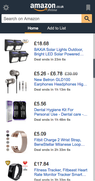 Hyper-personalisation Amazon