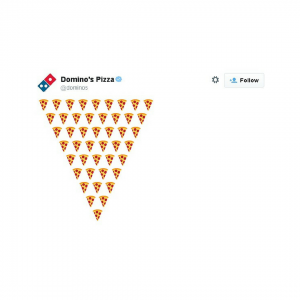 Dominos Emoji Campaign