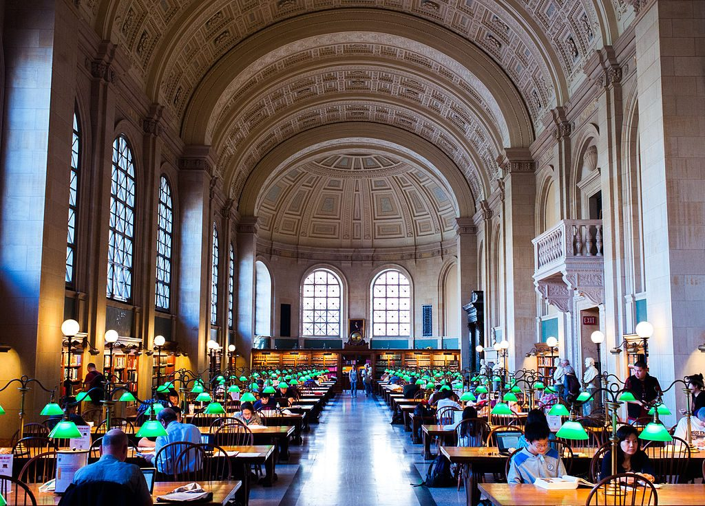 Library workspace - Boston