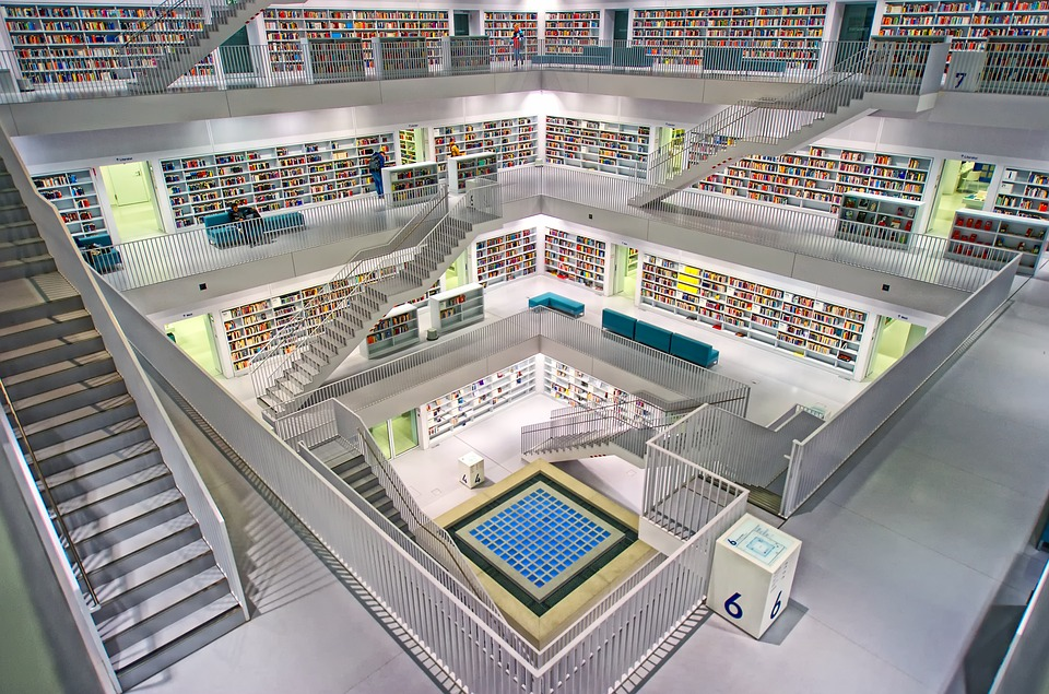 Library workspace - Stuttgart