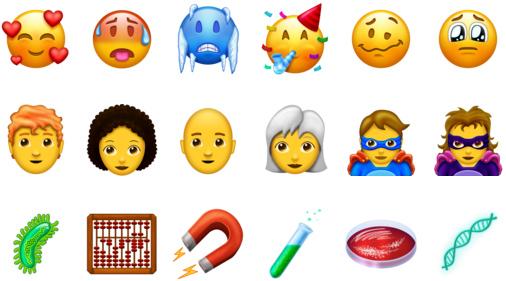 Apples 2018 Emojis