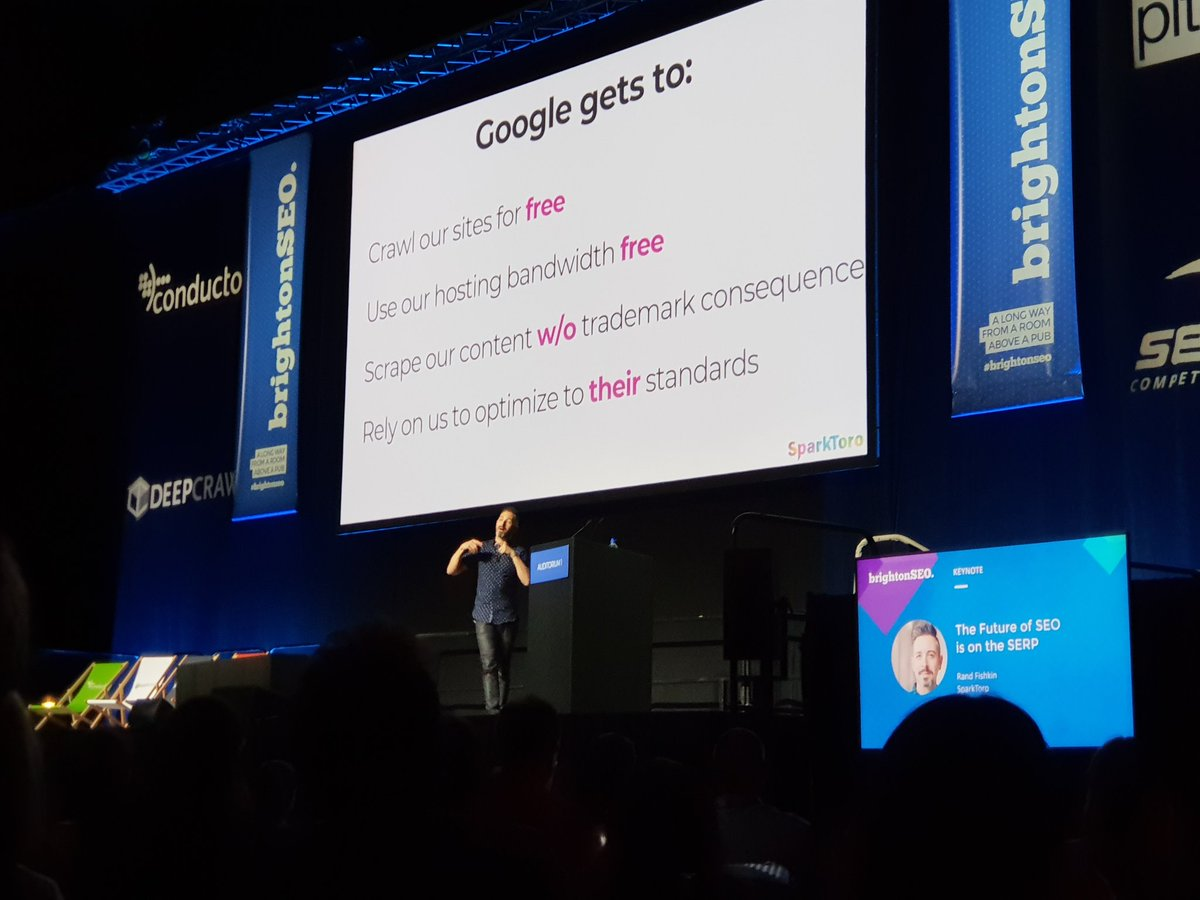 Rand Fishkin's Keynote at BrightonSEO