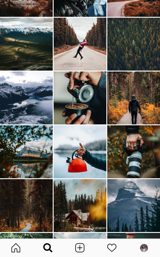 Having a clear theme on your Instagram account will help attract the right followers