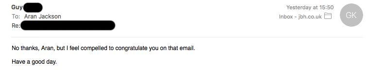 OI Oi Outreach email reply