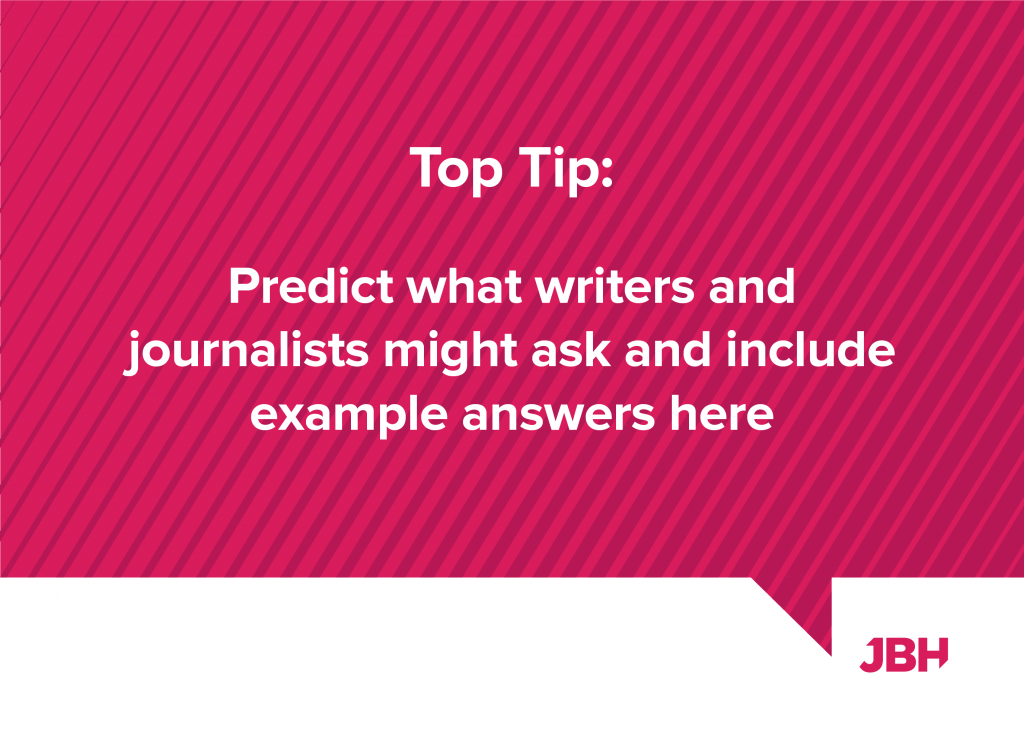 predict what a journalist might say