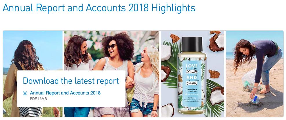 unilever consumer report